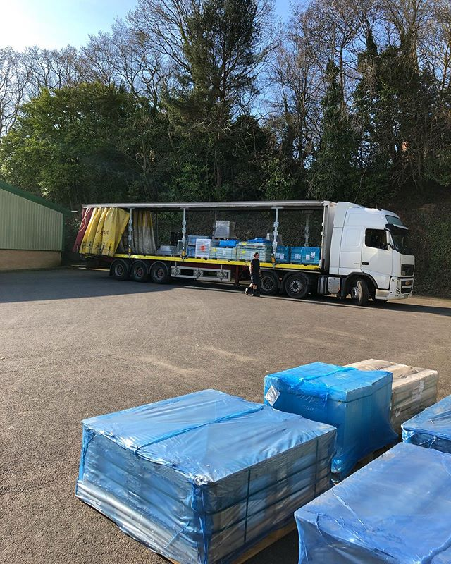 It's been a busy few weeks at the warehouse! . . . . . . . . #tiles #tile #tiling #development #new #warehouse #deliveries #delivery #italy #spain #uk #import #design #building #contractor #contract #architecture #architect #interiordesign #interior #porcelain #ceramic #marble #newbuild #truck #luxury #house #home #construction #building #living