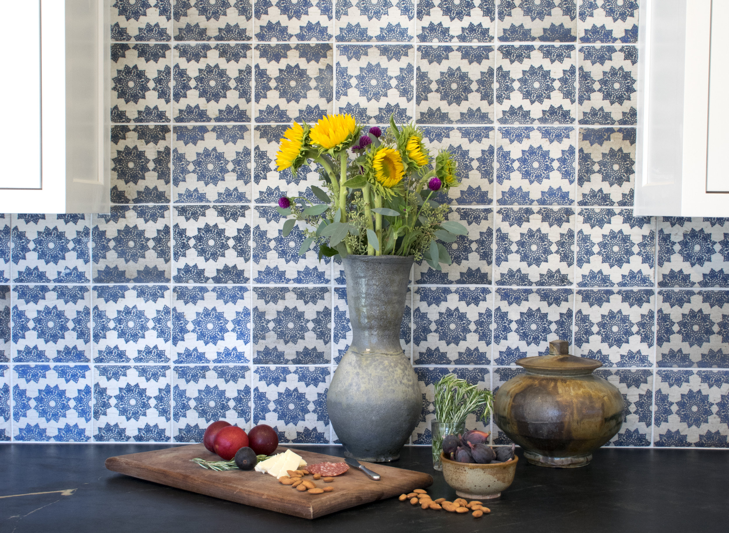 "6"" Blue Alborz Tile 