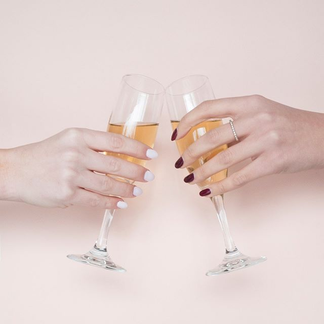 Cheers to Saturday! 🥂✨