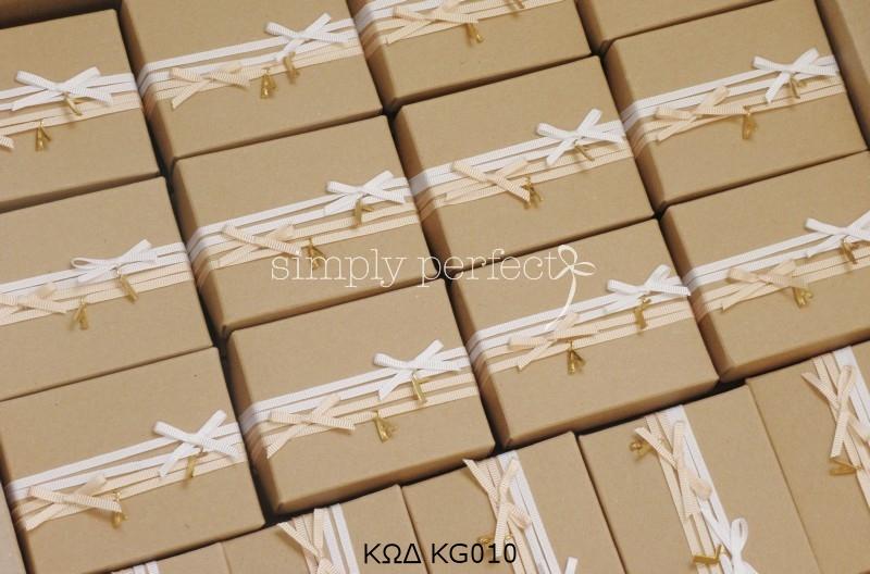 Μπομπονιέρα με τα αρχικά του ζευγαριού: ΚΩΔ KG010