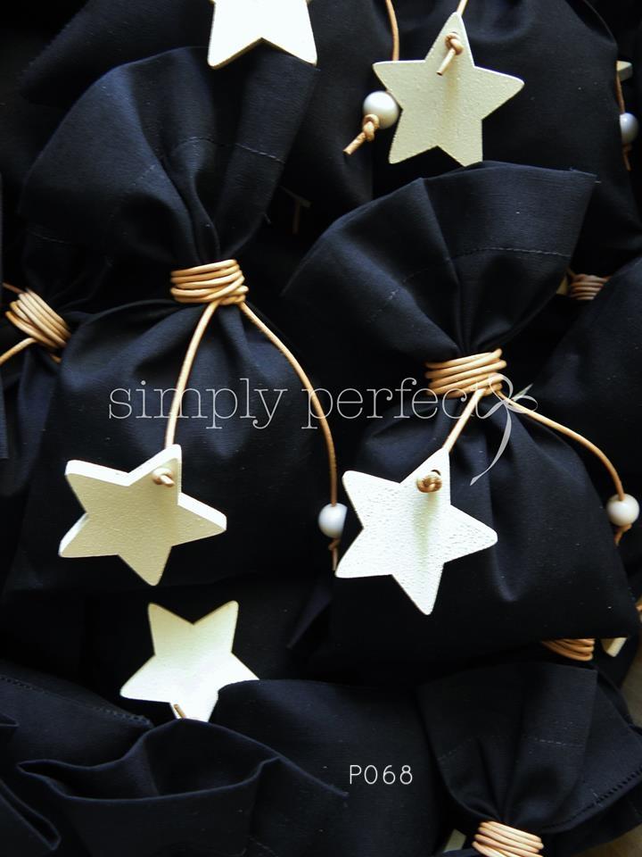 Μπομπονιέρα με θέμα το αστέρι: ΚΩΔ Ρ068