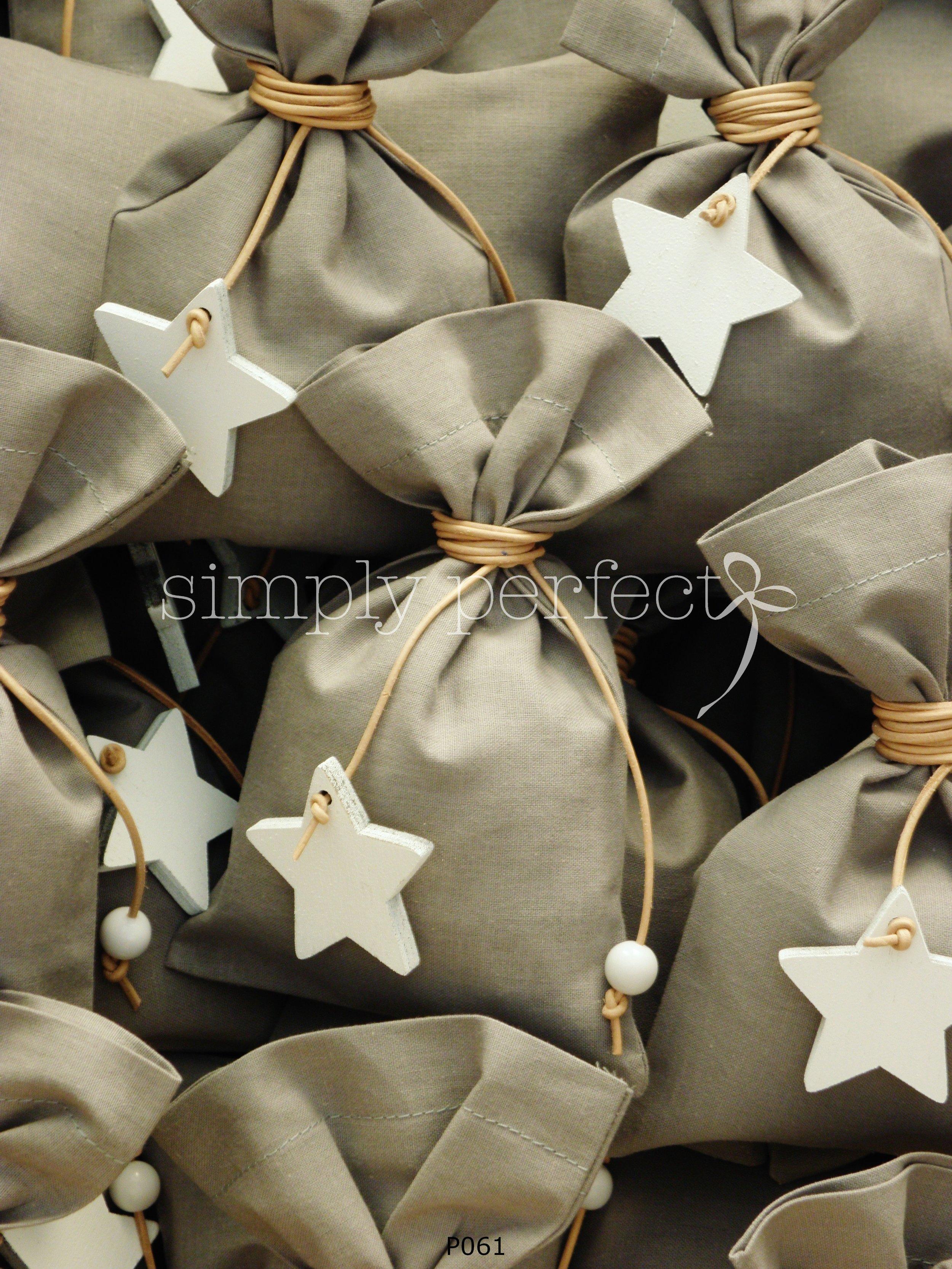 Μπομπονιέρα με θέμα το αστέρι: ΚΩΔ Ρ061