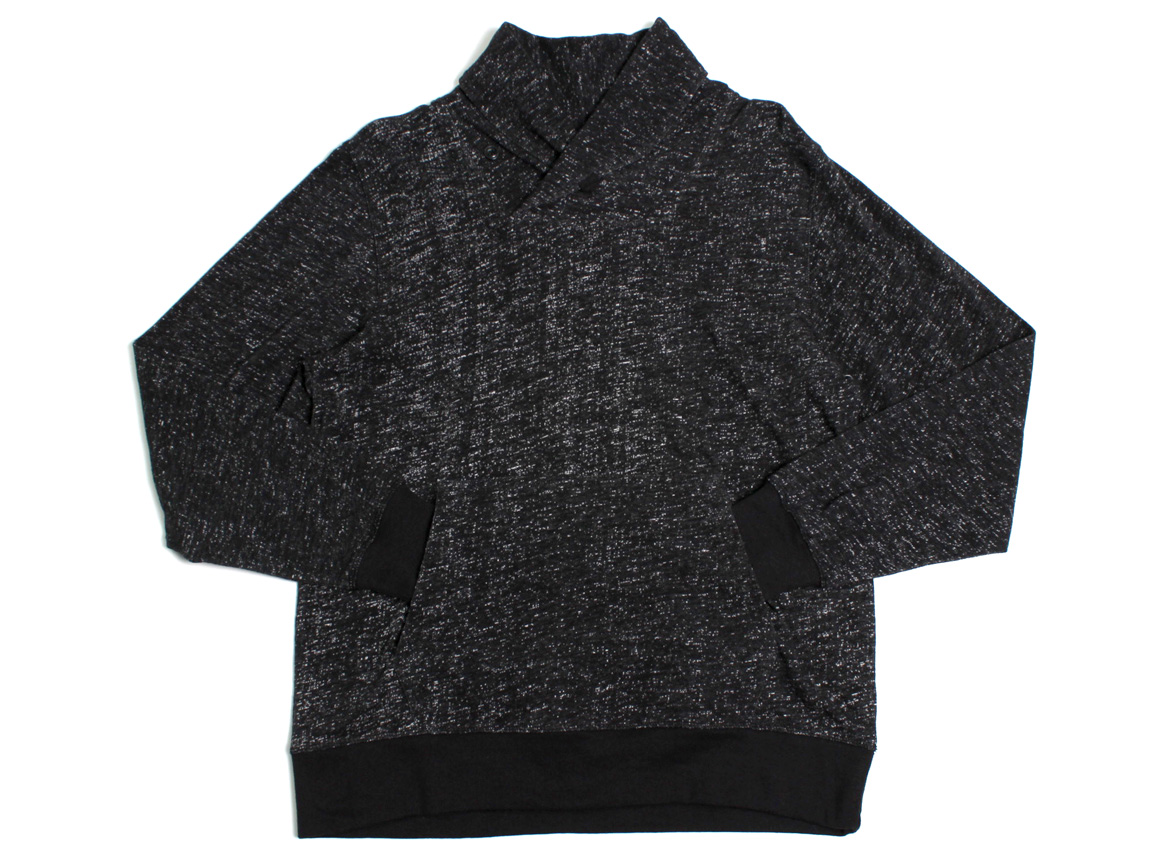Darwin Shawl Collar Pullover - Black