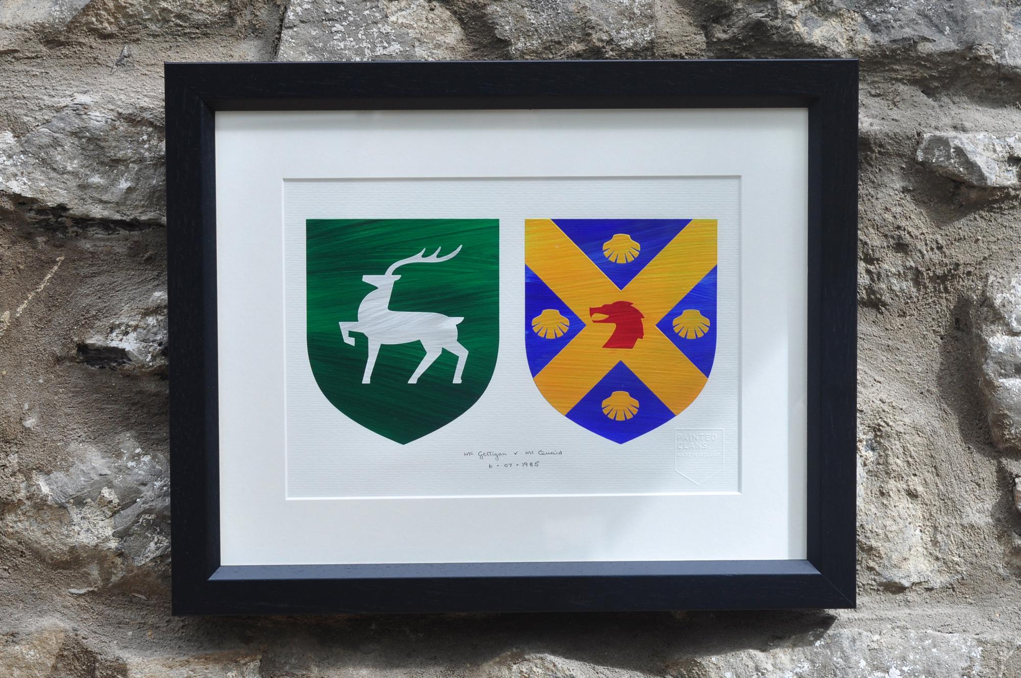 Painted Clans crest