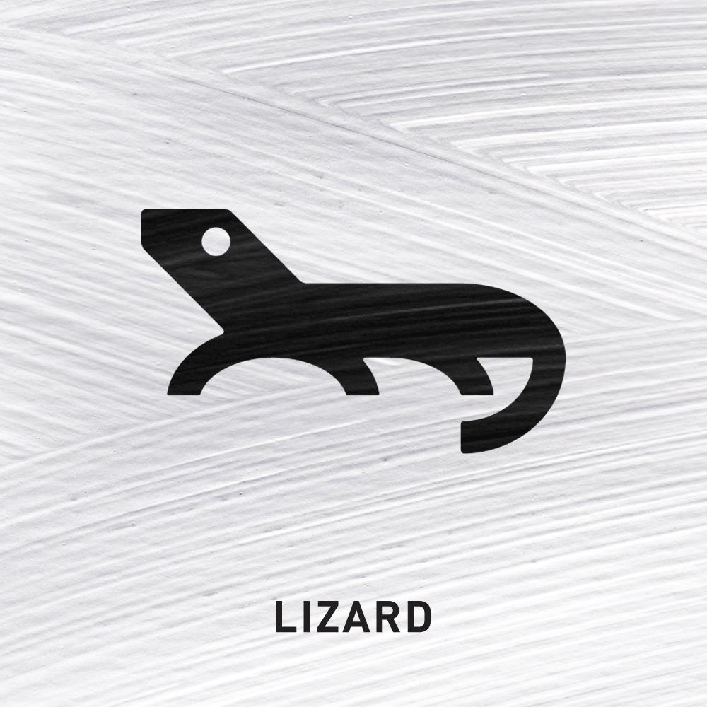 Lizard Luck   The Lizard is an ancient heraldic symbol signifying good luck.