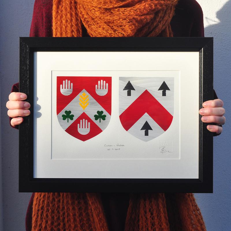 Wedding Gift. Coat of Arms