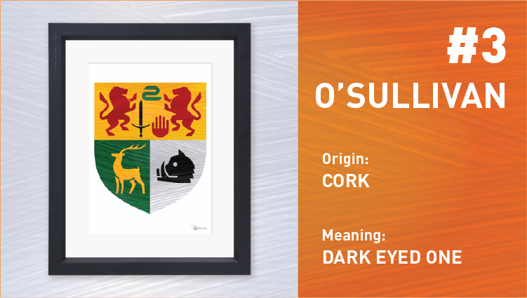 O'Sullivan Coat of Arms - Painted Clans