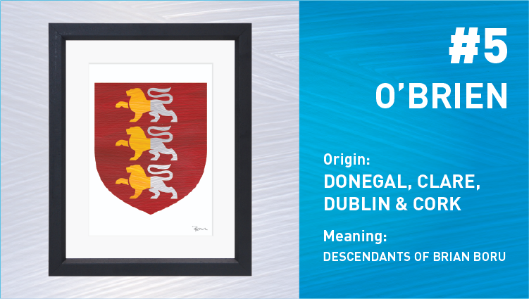 O'Brien Coat of Arms - Painted Clans