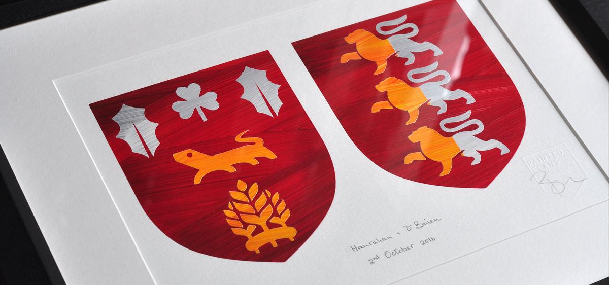 Hanrahan & O Brien Coat of Arms - 2nd October 2016
