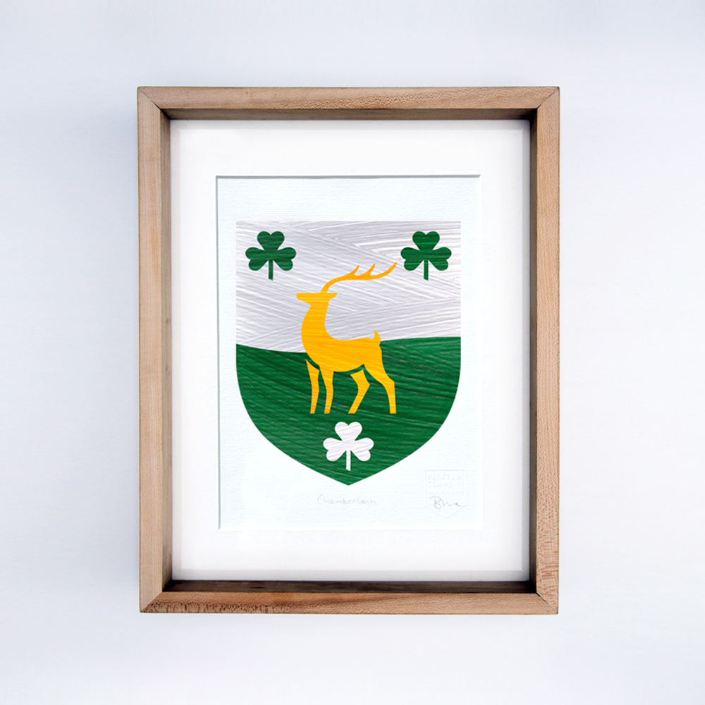 Single Coat of Arms - Heritage Gift