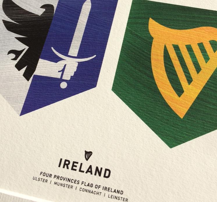 Four Provinces Flag of Ireland