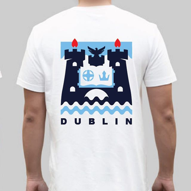 Currently working on a new project called Clans & Co. This will focus on Counties and will be available in a range of t-shirts and hoodies. What's your thoughts on my take on the Dublin crest? Would you wear it? #Dublin #Dubs #ireland #irishdesign #design #irishtshirts #gaa #crokepark #allirelands2019 #backyourcounty