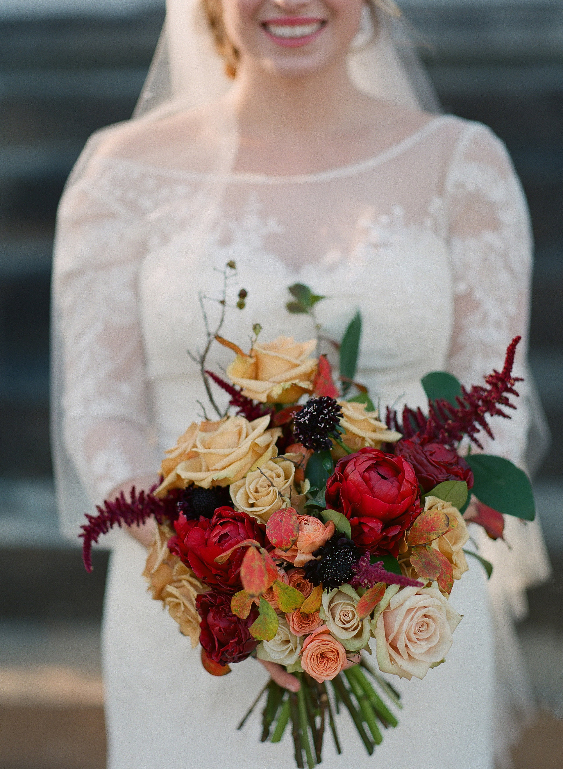Intimate Thanksgiving Wedding in Mississippi