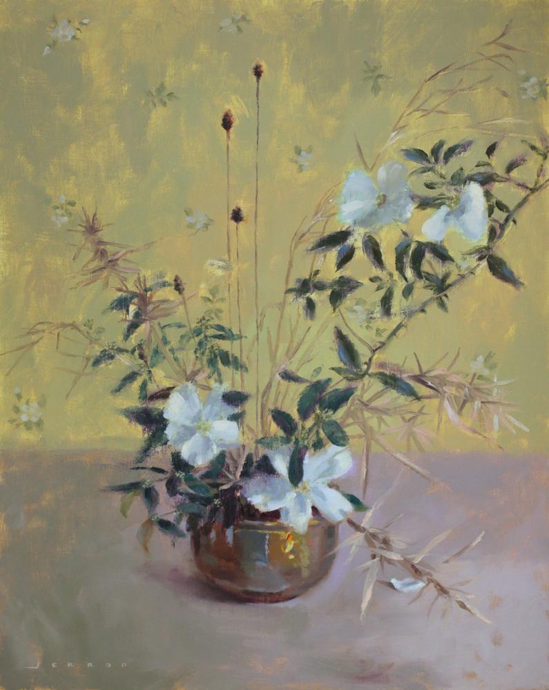 Flowerpainting_cherokeerose
