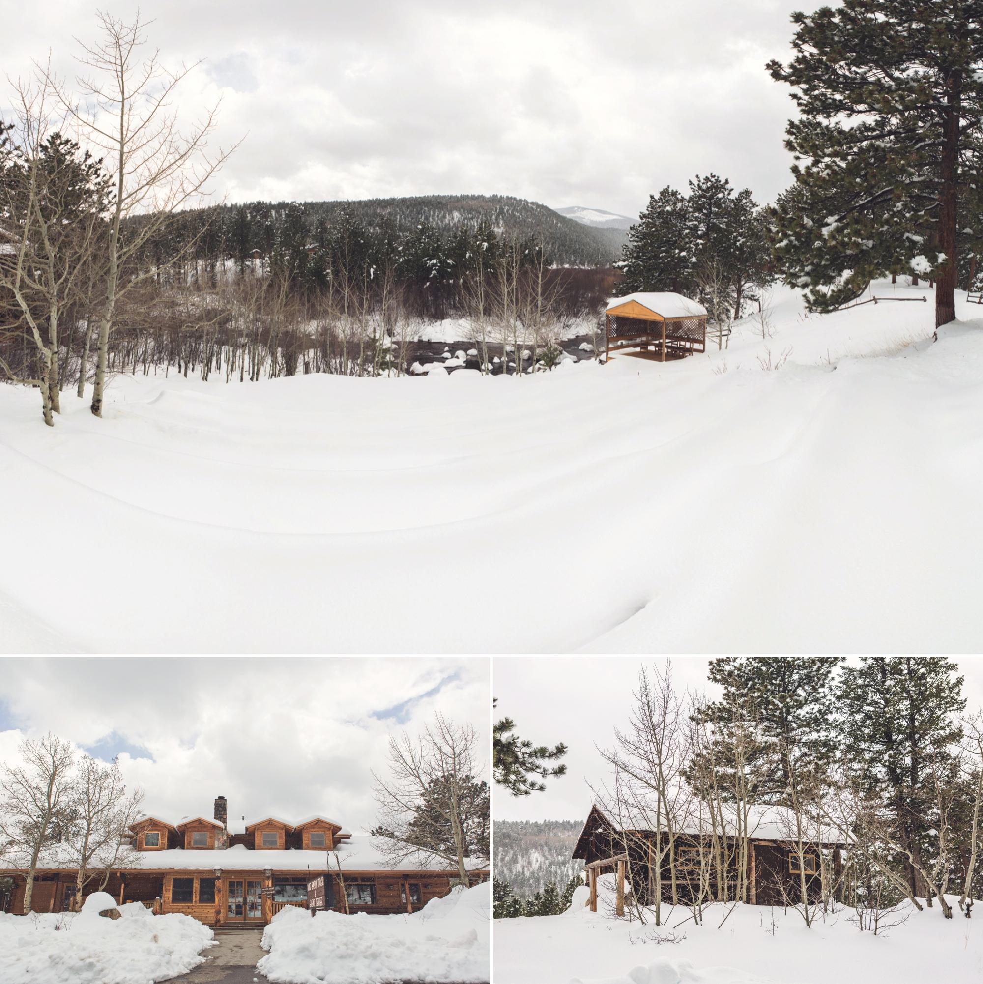 Wedding Venue:  Wild Basin Lodge