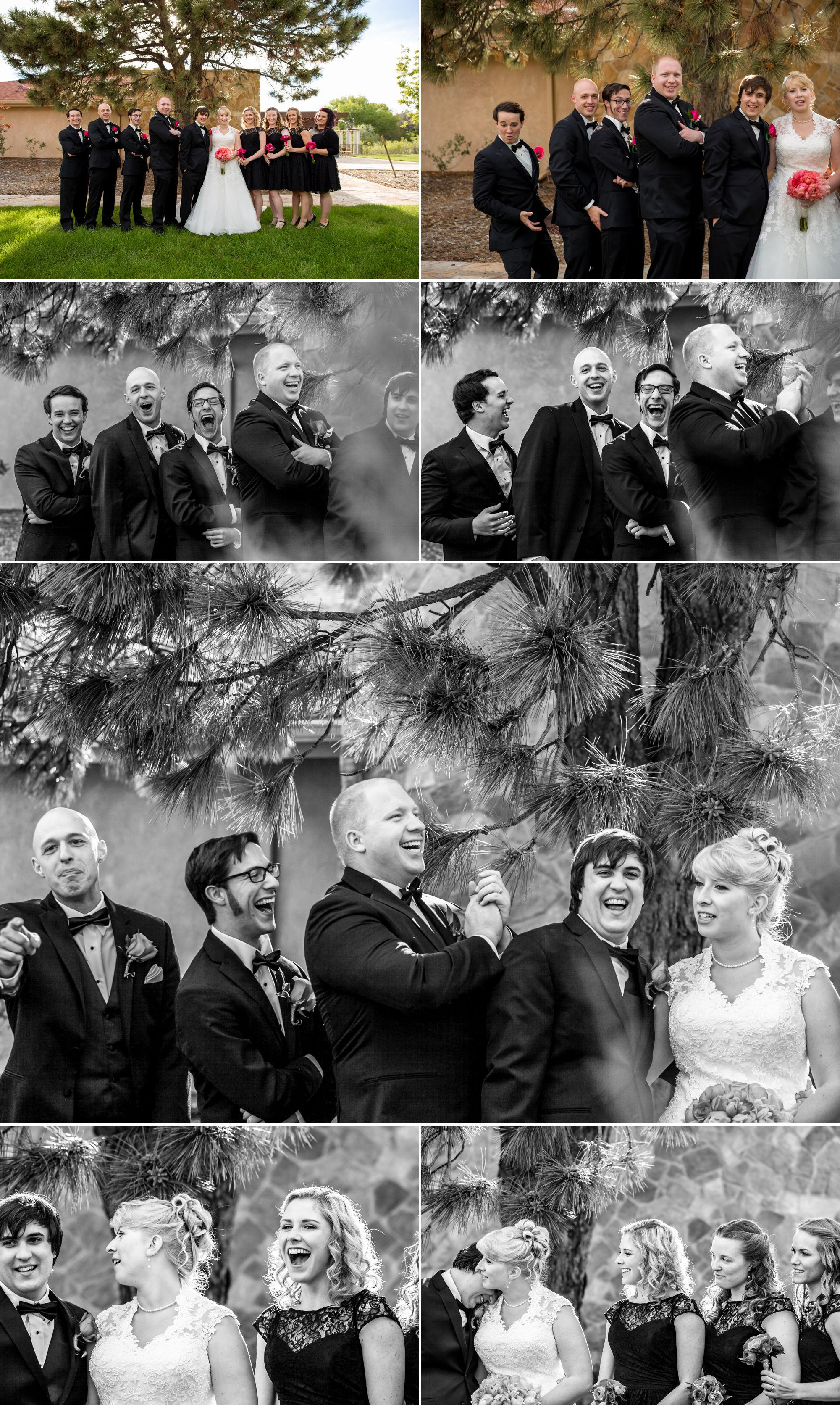 A little trick we use to get a laugh out of the bridal party