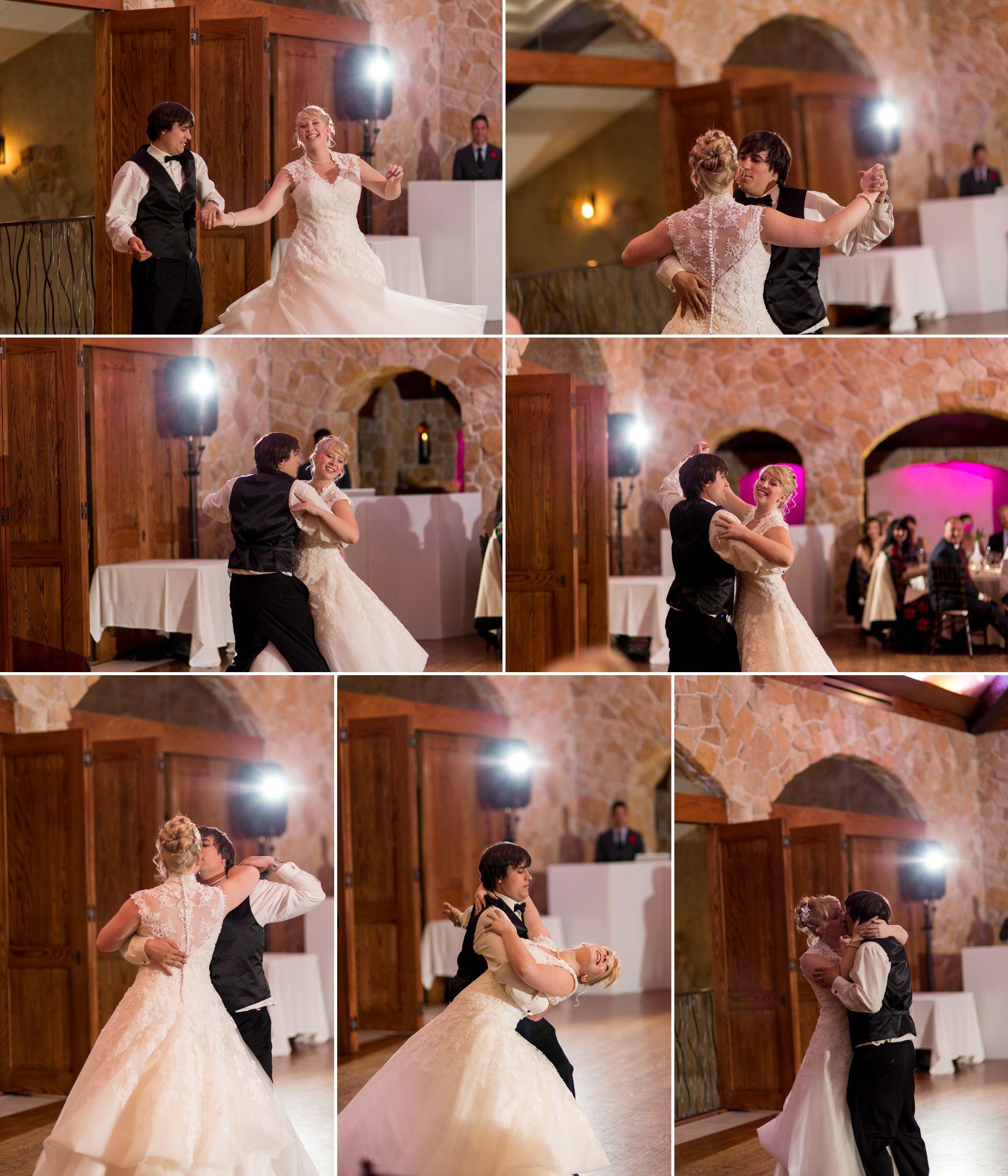 Choreographed first dance - Ballroom style!!