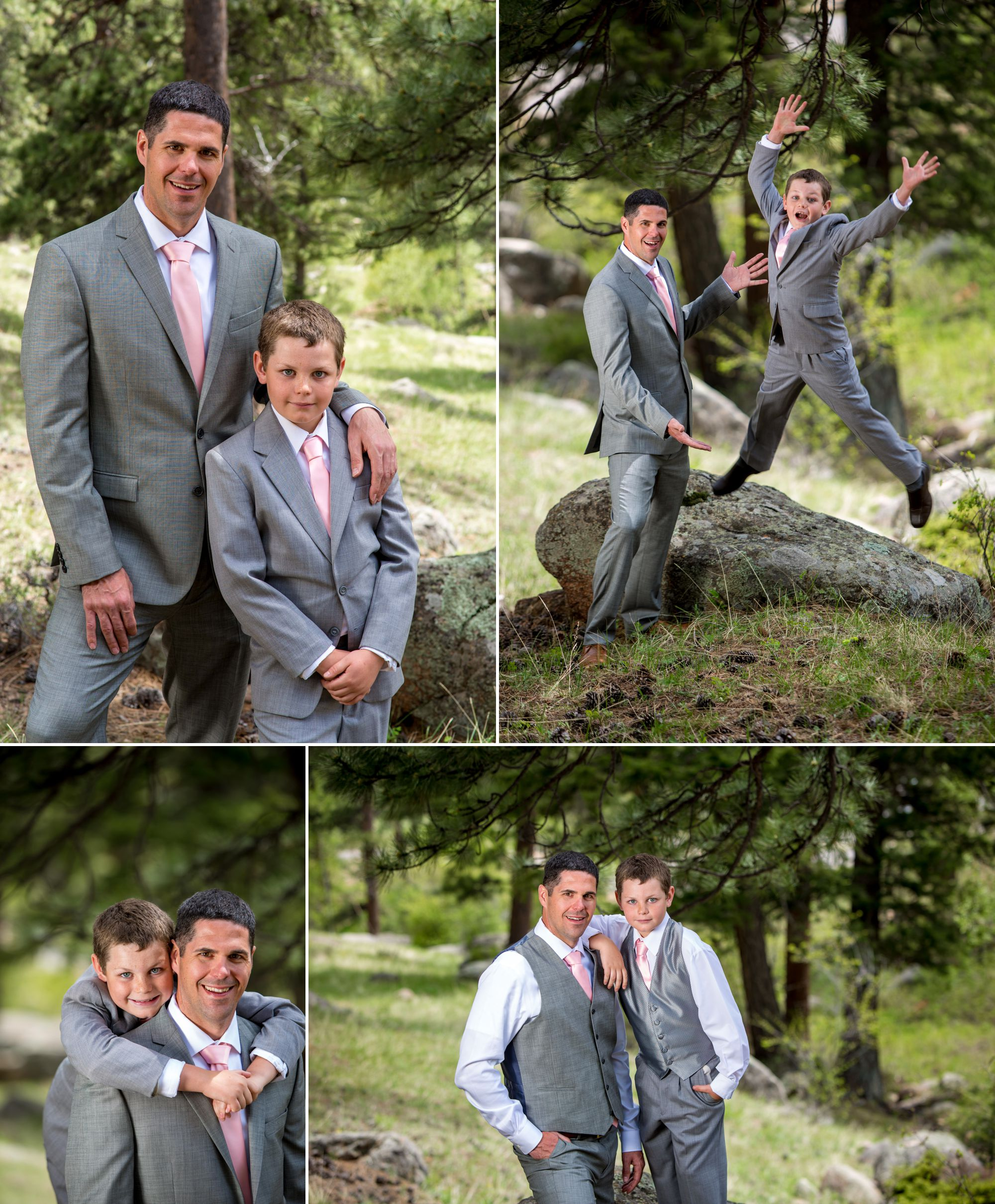 Groom and Best Man photos (father-son wedding day images)