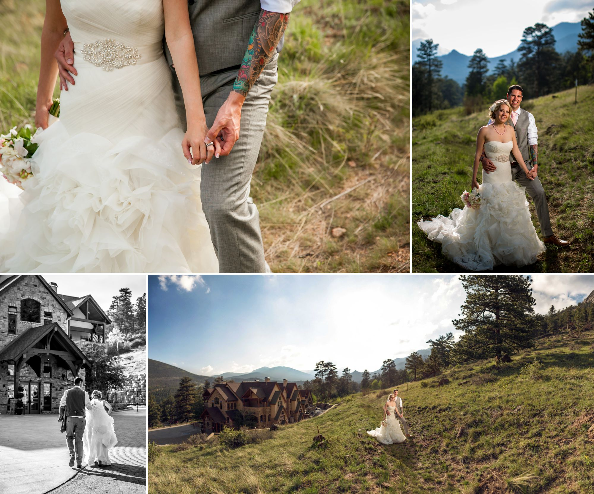Another Della Terrapanorama, this time with our gorgeous bride and handsome groom!