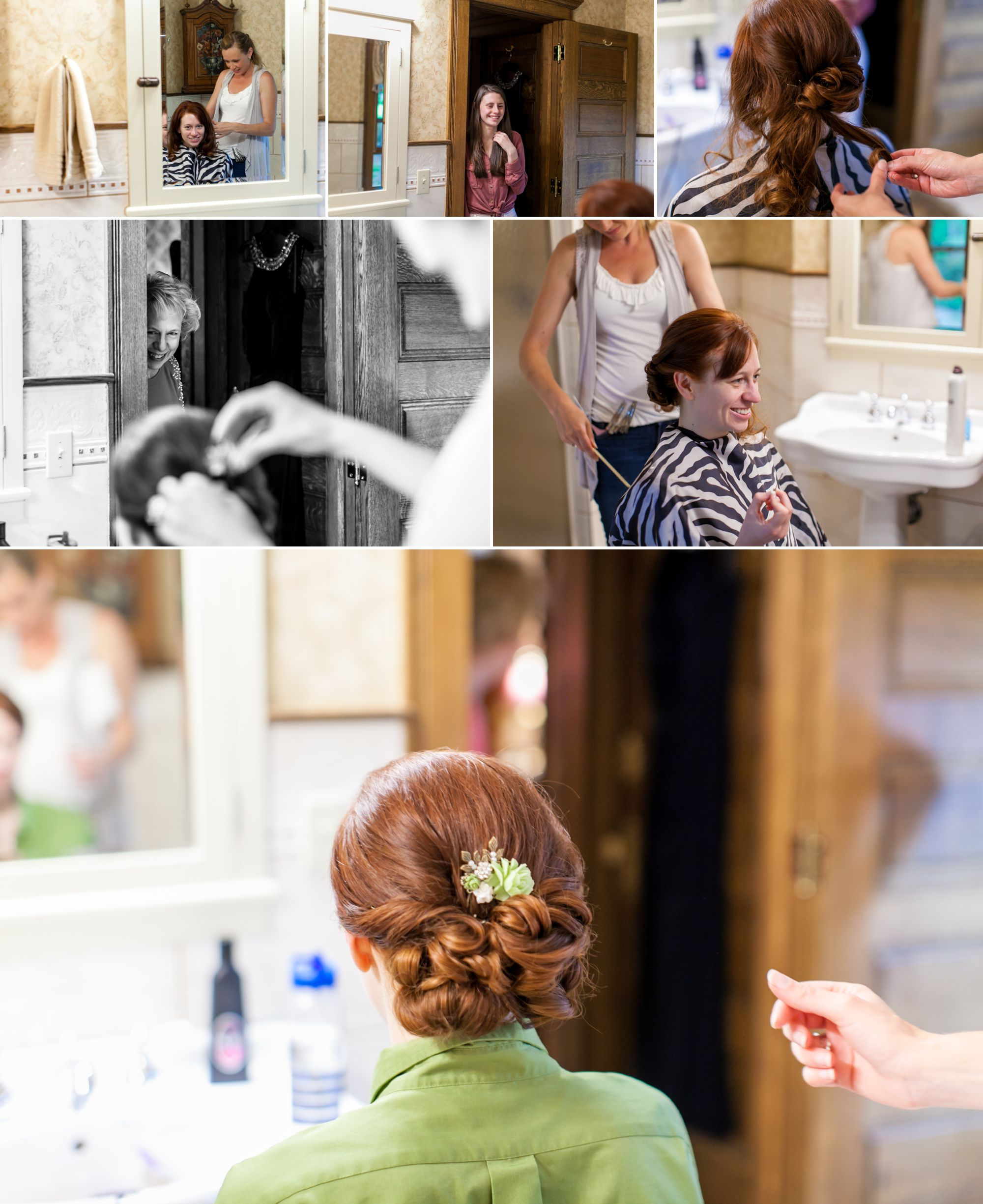 Bridal suite at Tapestry House - Hair by  Naomi Gawje (Fort Collins Country Club)