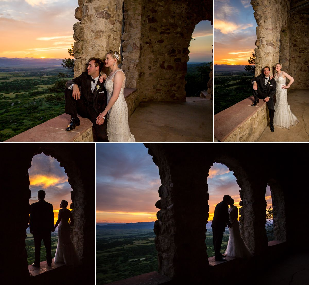 Again, how amazing are these views and the Bronco Sunset every bride prays for...EPIC!!!