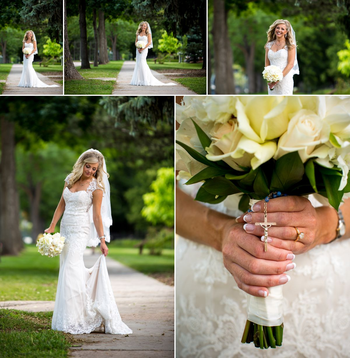 Beautiful bride on her wedding day! Gown by Watters Wtoo from Victoria Rose Bridal Parlor