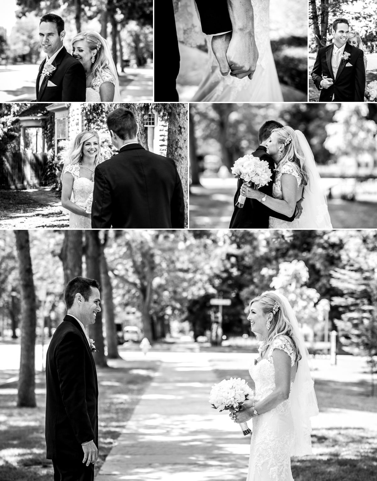 Nothing better than a bride crying before seeing her groom!!
