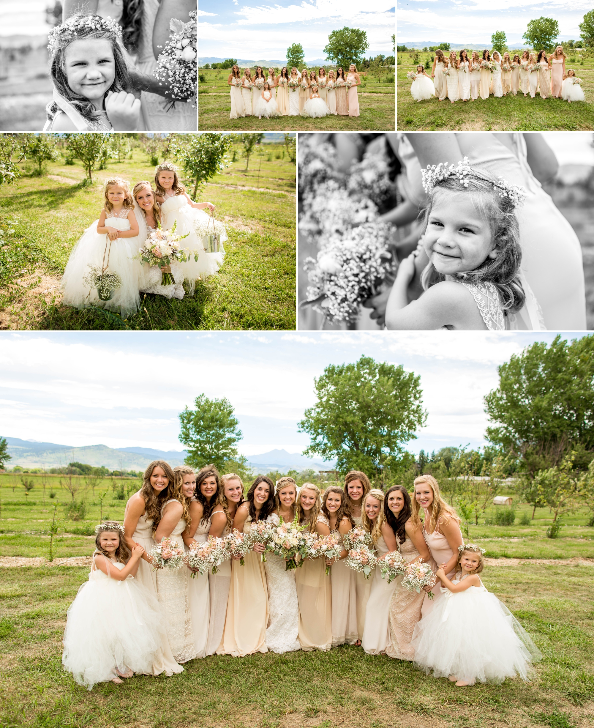 Nothing better than a bride with her best friends and those closest to her heart.