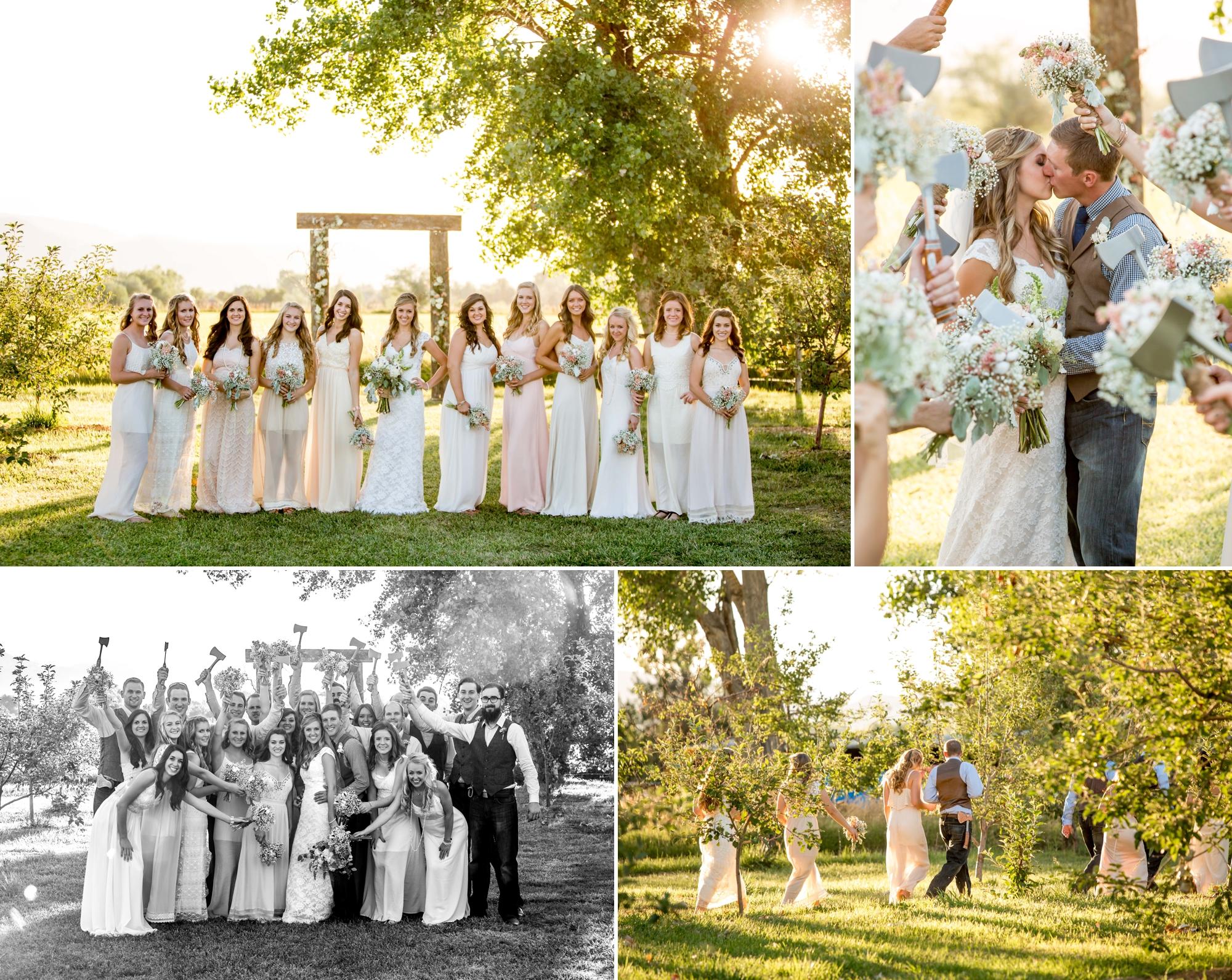 Ya Ya Farm & Orchard - Bridal party