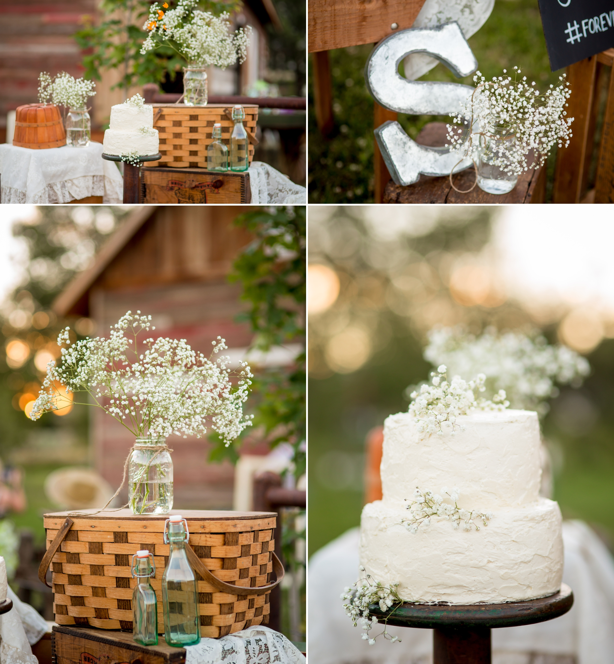 Cake details out by the truck atYa Ya Farm & Orchard
