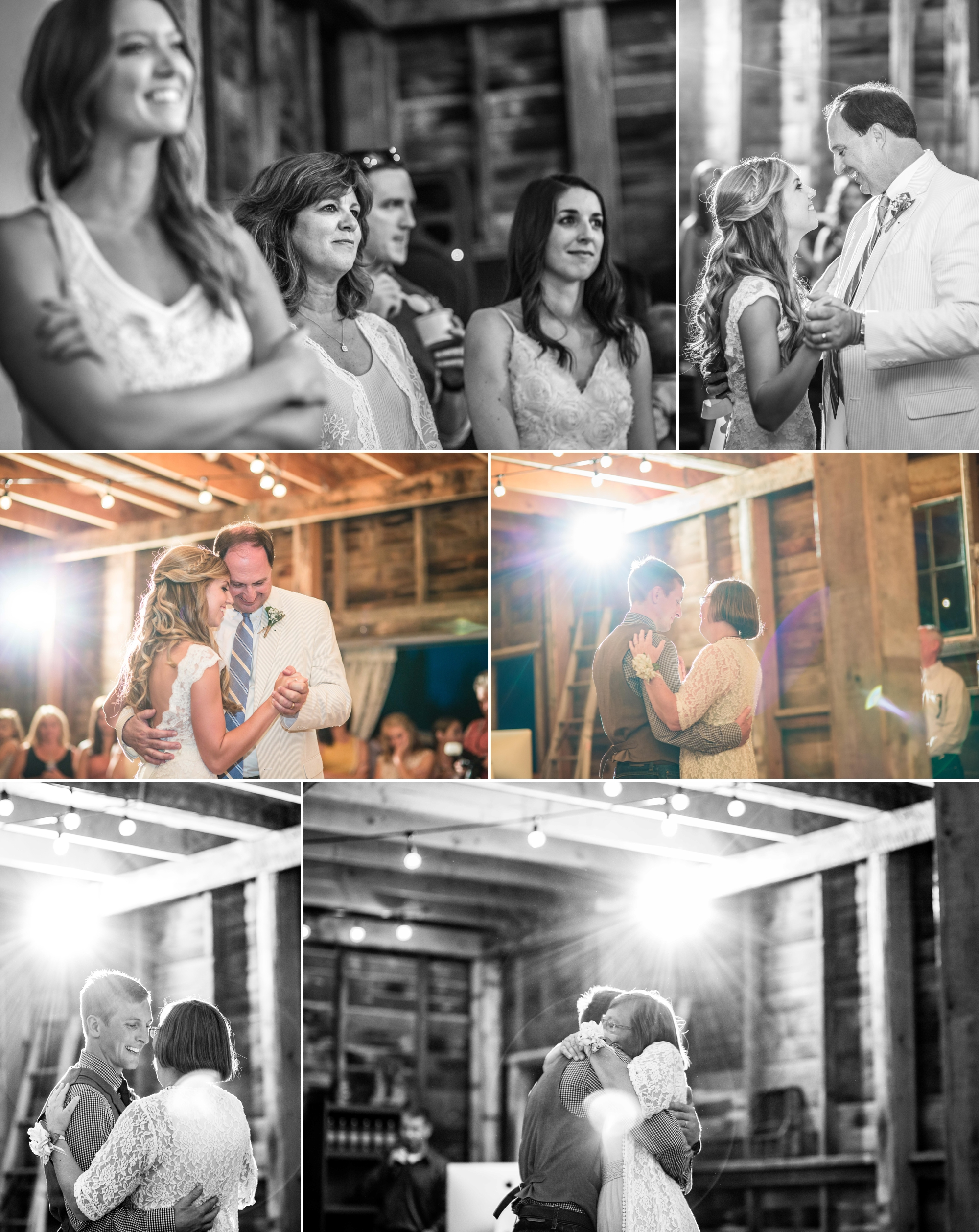 Father-daughter and mother-son dances are another favorite moment of ours during a wedding!
