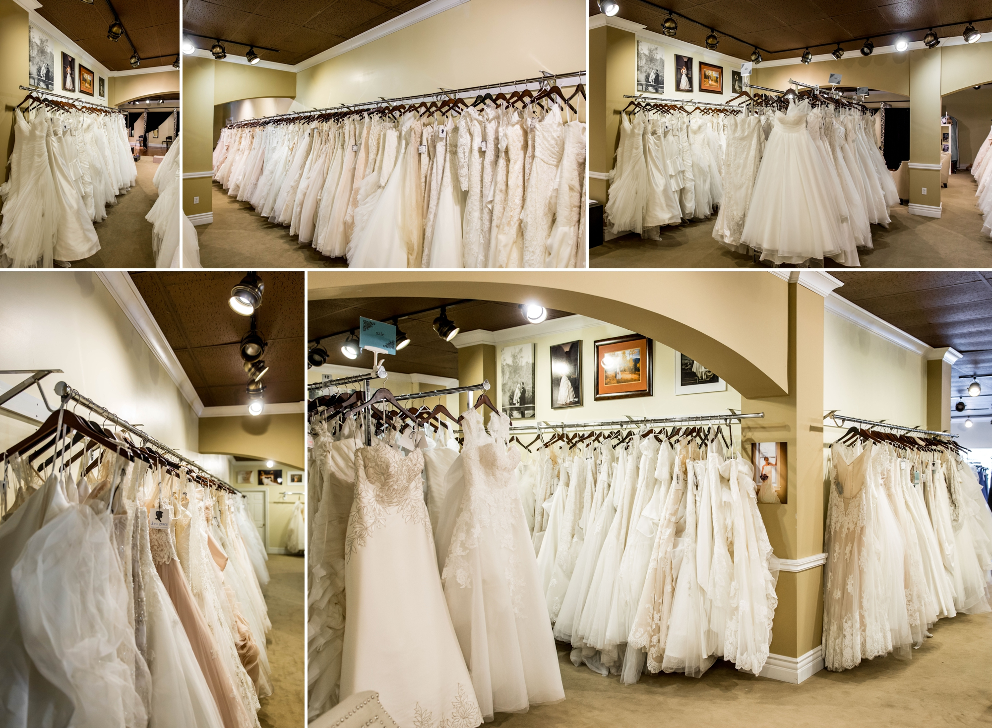 Dora Grace Bridal -gorgeous gowns by  Maggie Sottero , Sotterro Midgley , Mori Lee , La Sposa , Stella York , Essense of Australia , WToo and Willowby.