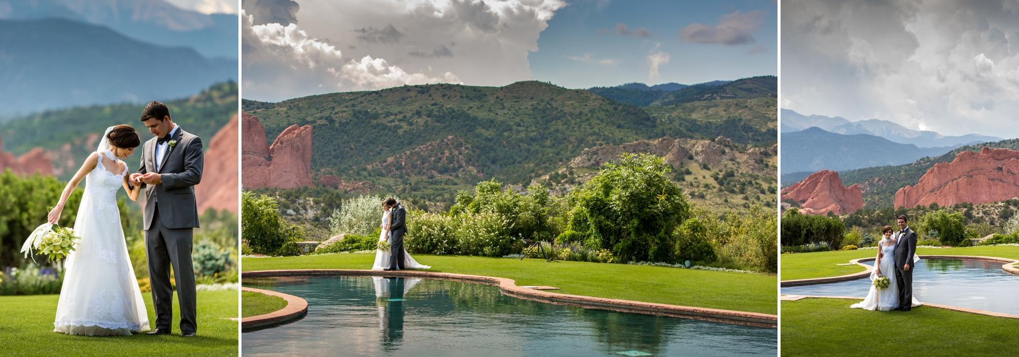 Garden of the Gods Country Club, Colorado Springs Wedding