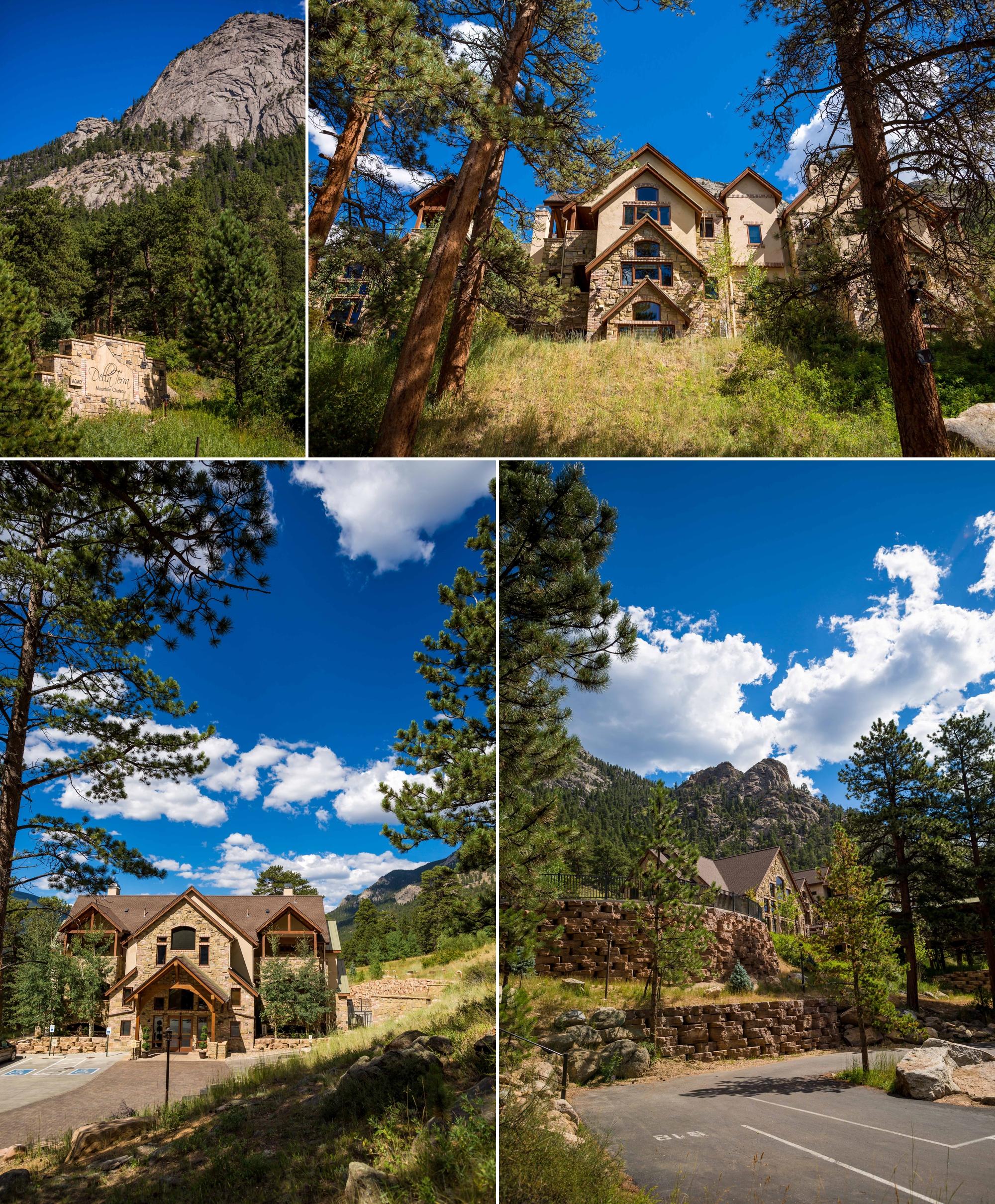 Della Terra Mountain Chateau in August, Estes Park, Colorado
