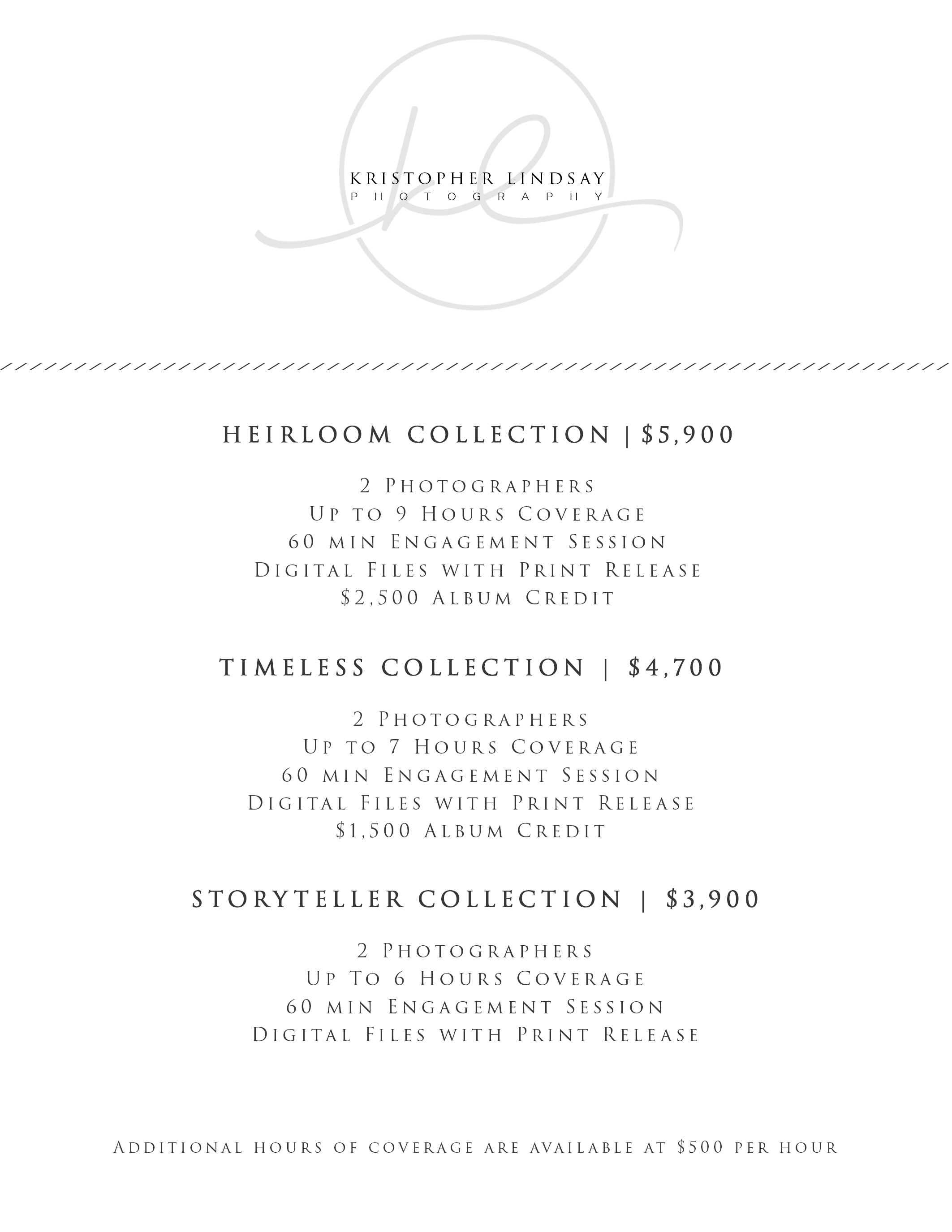 Kristopher Lindsay Collection Pricing 2018.jpg