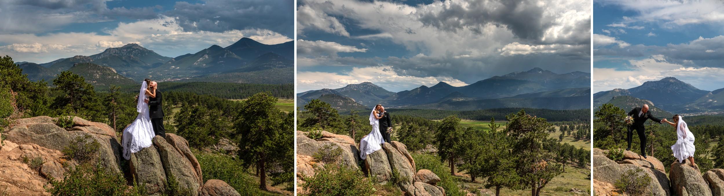 Rocky Mountain National Park Wedding Photographer