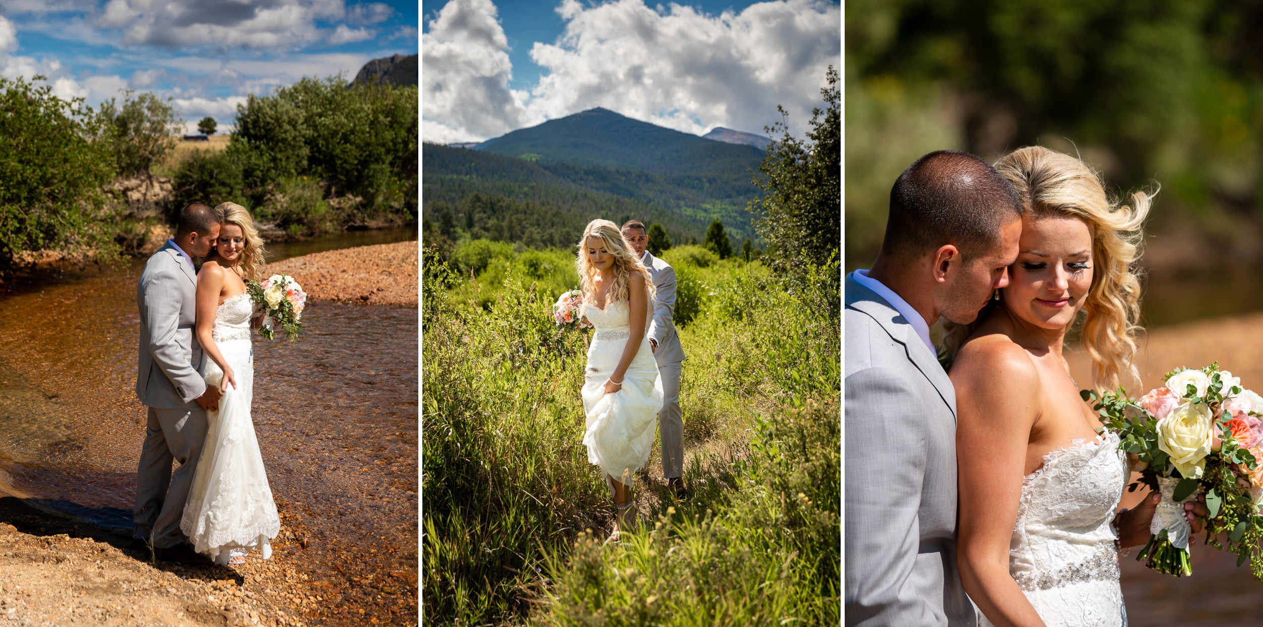 Wedding Portraits in Rocky Mountain National Park