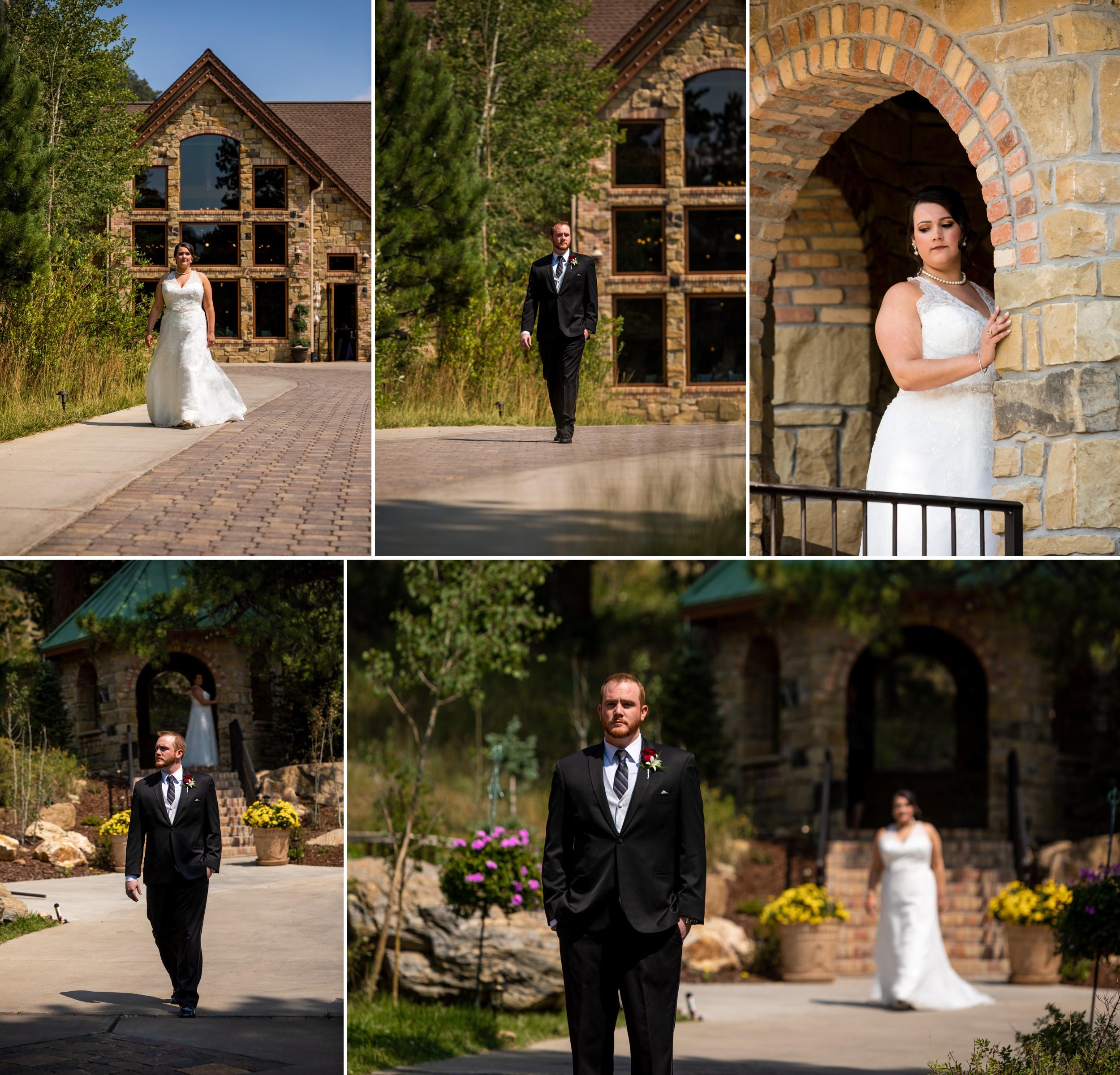 Della Terra Mountain Chateau, Estes Park Colorado Wedding