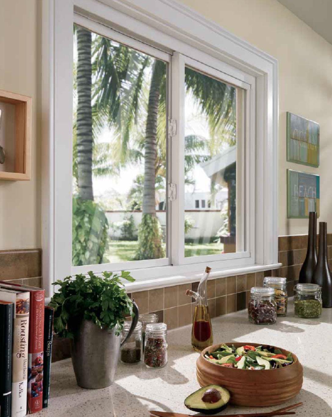 Beveled Window Installation