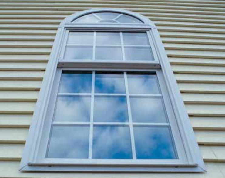 Arch Window Installation