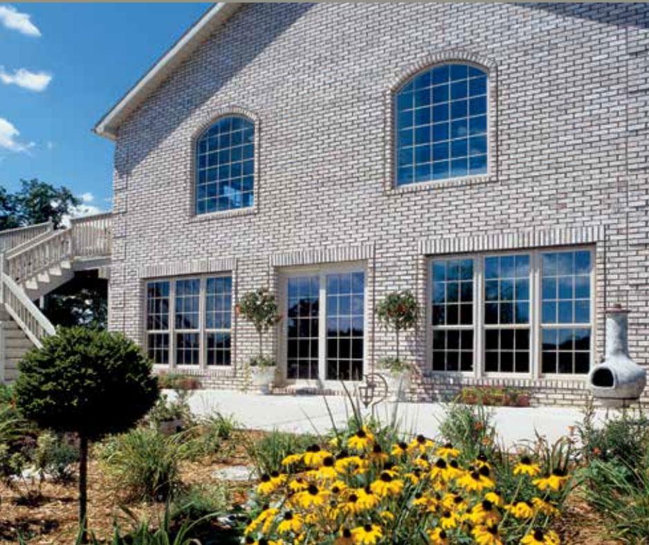 Arched Window Installation