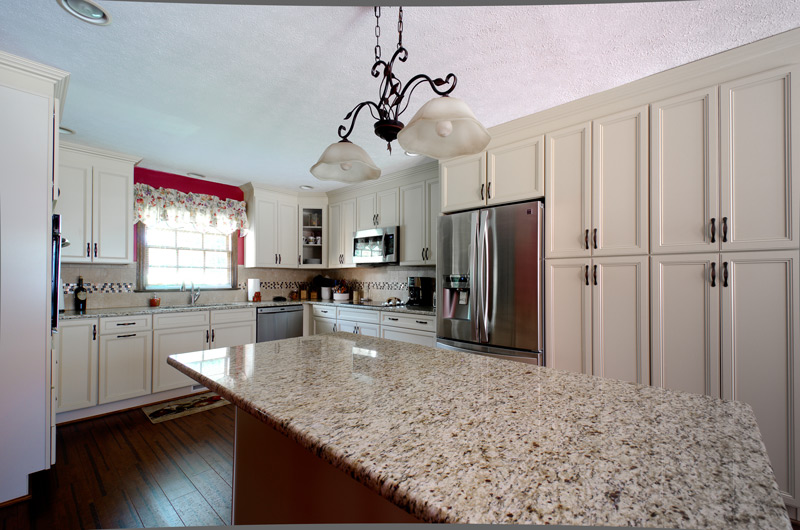 White Cabinets, Pendant Lighting, Kitchen Island, Kitchen Remodel