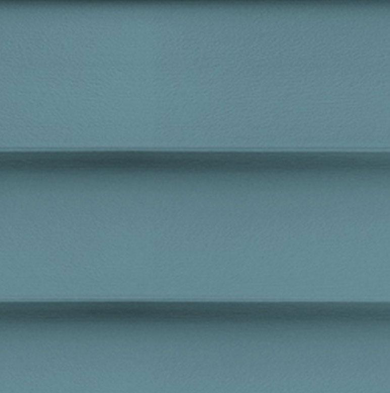 Blue Mastic Horizontal Siding