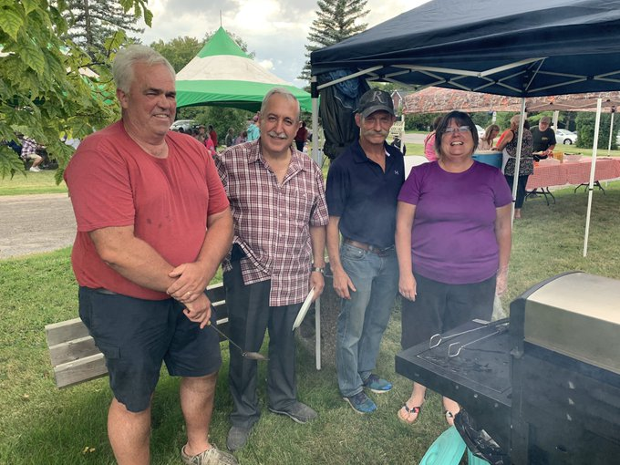 AUG. 17, 2019: Attending St. George's annual corn roast