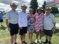 AUG. 24, 2019: Golfing in the Dunrobin Village Meat & Grocery's annual charity golf tournament