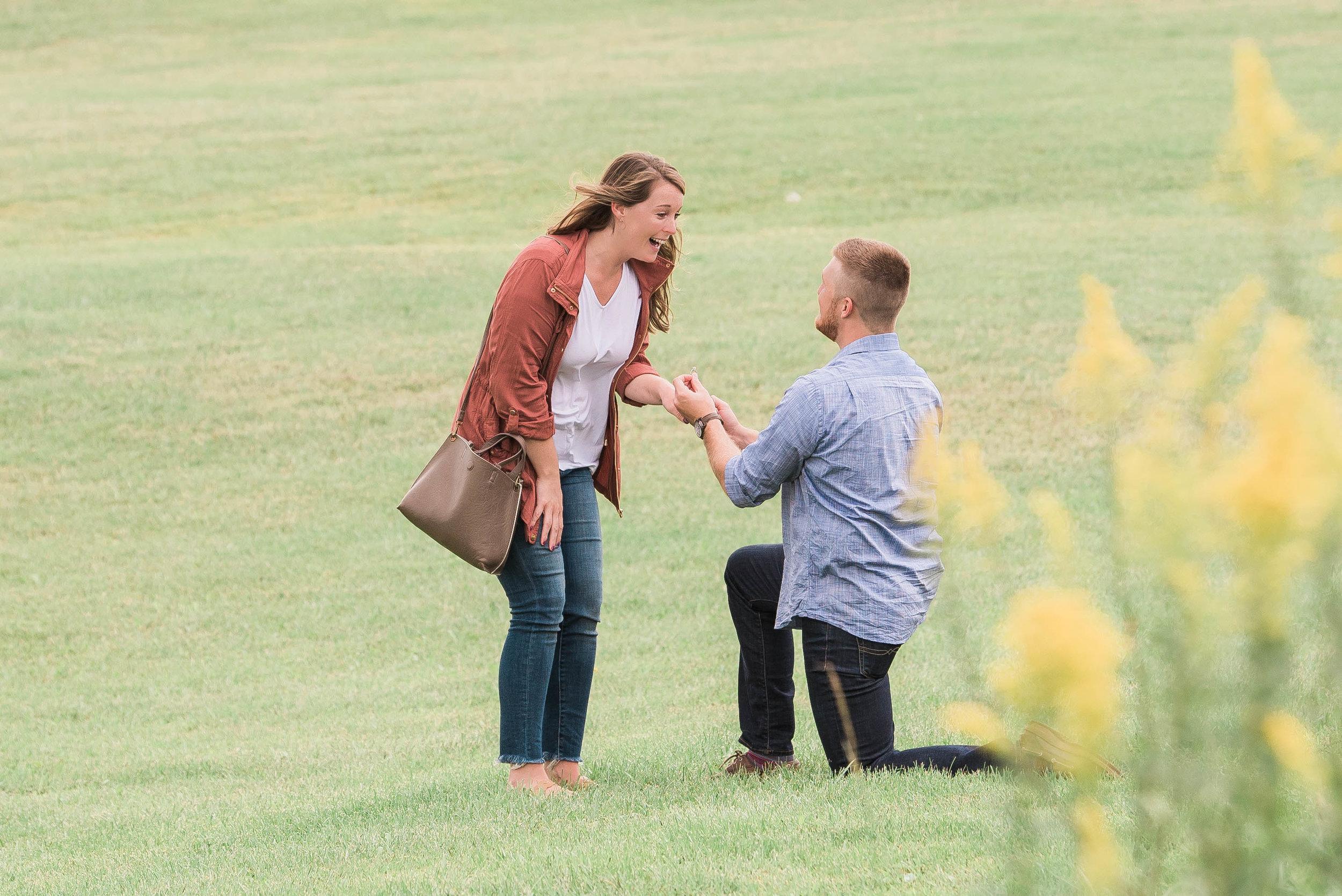proposal on knee photo