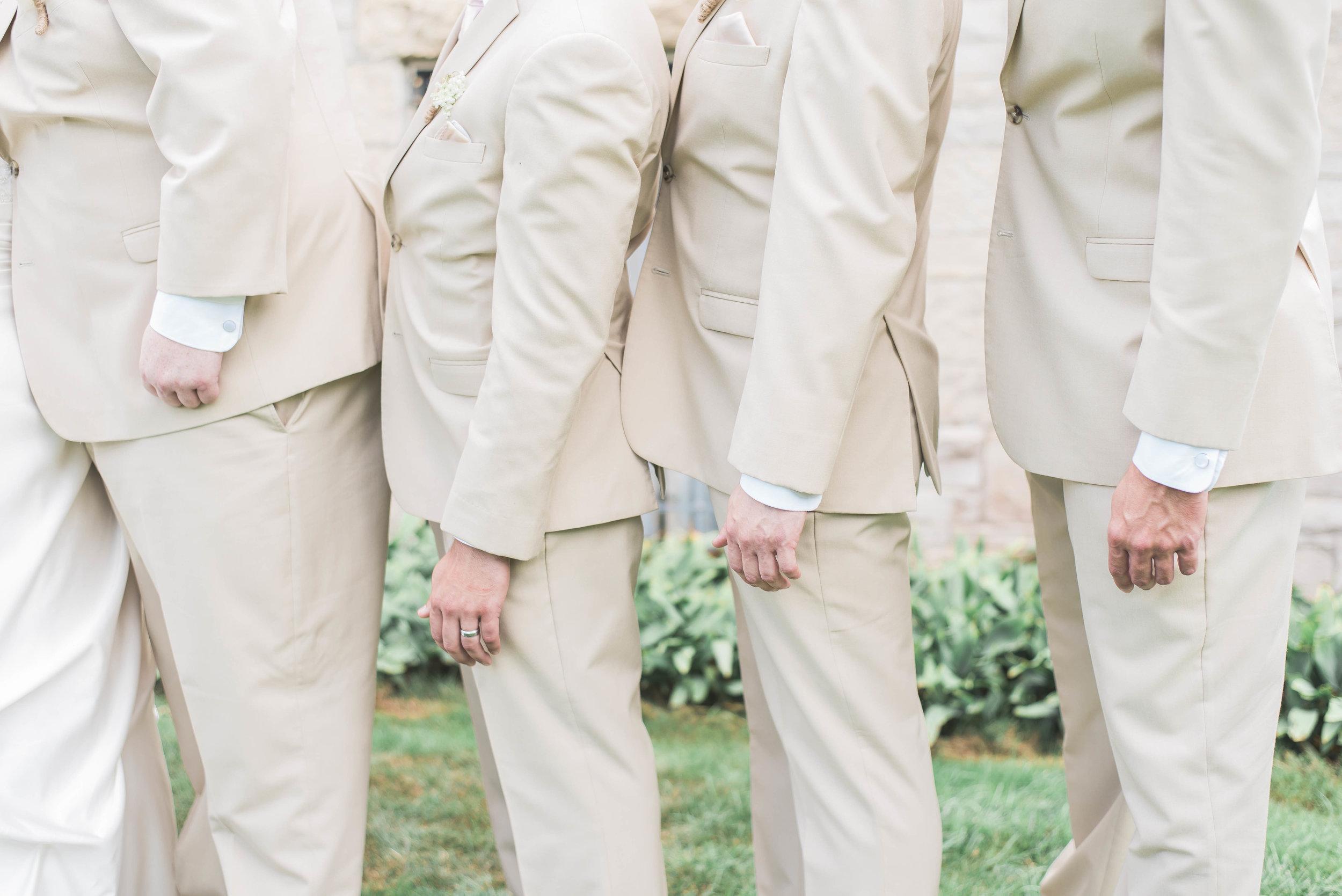 tuxedo close up