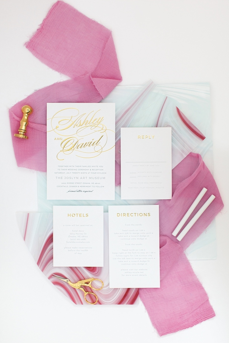 basic invite pink and gold 2
