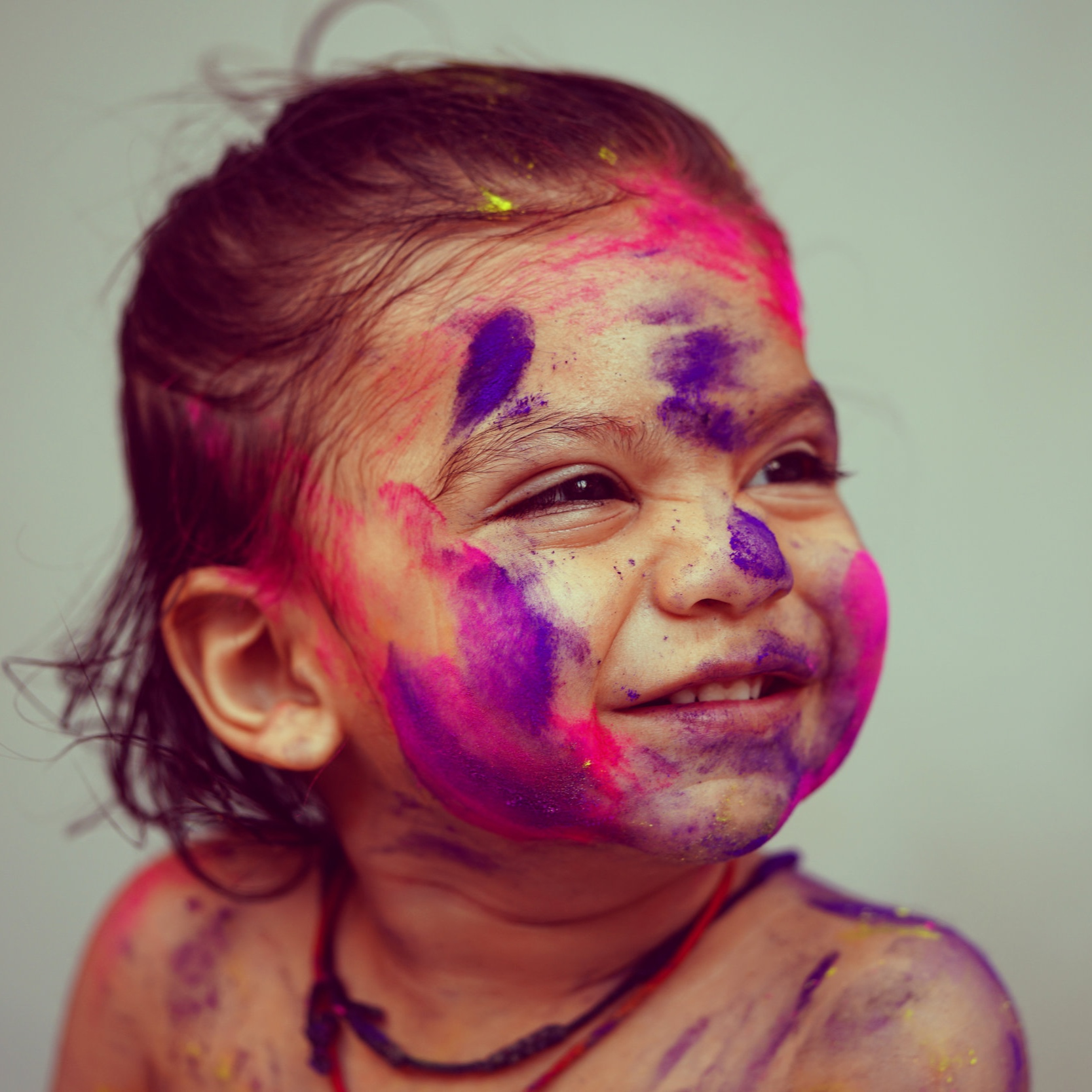 Find beauty in the mess -