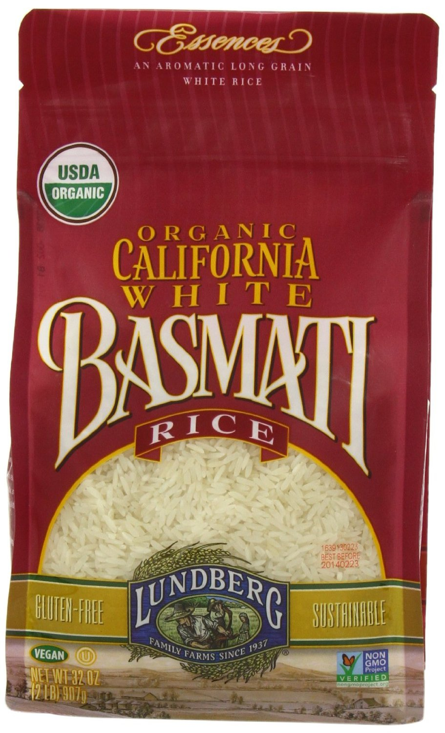 Lundberg California Basmati rice is thebrand I exclusively buy for my family. Ithas only 1.3 -1.6 ppb arsenic per serving (1/4 cup uncooked), which is well below the safe limit.